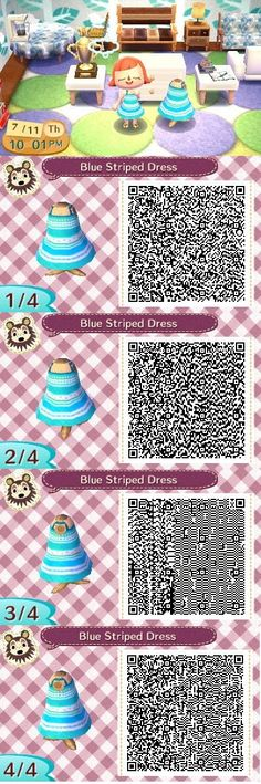 Blue Striped Dress. I'm also wearing tropical sandals. A simple blue and white dress. ~Created by Ashley~