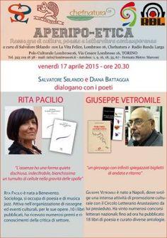 Torino Aperipo-etica 17.4.15 Rita Pacilio e Giuseppe Vetromile [album fotografico]