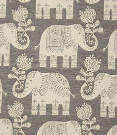 .elephants fabric.
