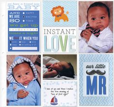 Embellished Cards - Baby Boy