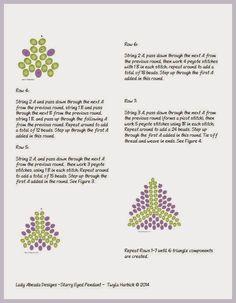 Tutorials] Patterns on Pinterest | Seed Bead Tutorials ...