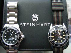 "Steinhart ""Ocean Owners Club"" - Page 4 Luxury Watches, Rolex Watches, Cool Watches, Watches For Men, Steinhart Ocean One, Steinhart Watch, Classy Clothes, Wristwatches, Men's Fashion"