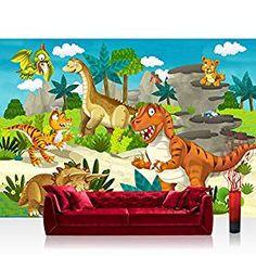 Lovely Dinosaurier Fototapete f r das Kinderzimmer