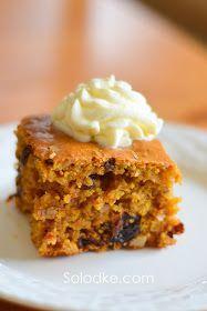 Тыквенный пирог. Яблочное пюре можно заменить 1 ст. растительного масла.