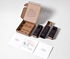 Rivet & Sway Packaging by Yiu Studio | Another lovely package! #outcome