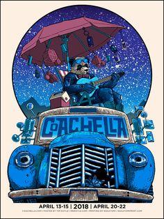 The Geeky Nerfherder: #CoolArt: 'Coachella 2018' by Tim Doyle