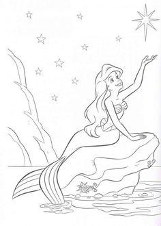 Disney Ariel Coloring Pages