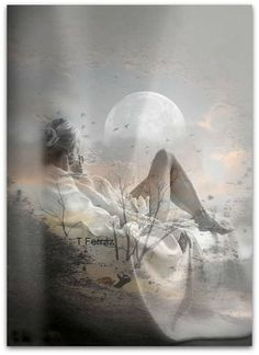 """Find and save images from the """"Double Exposure"""" collection by Mercede Lynn on We Heart It, your everyday app to get lost in what you love. Romantic Pictures, Pretty Pictures, Cool Photos, Beautiful Moon, Beautiful Images, Creative Photography, Art Photography, Double Exposition, Outdoor"""