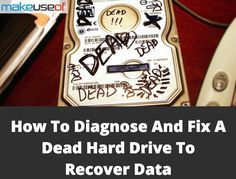 How to Repair a Dead Hard Disk Drive to Recover Data - computer - Computer Hard Drive, Computer Internet, Computer Technology, Computer Programming, Computer Science, Laptop Repair, Computer Repair, Computer Tips, Diy Electronics