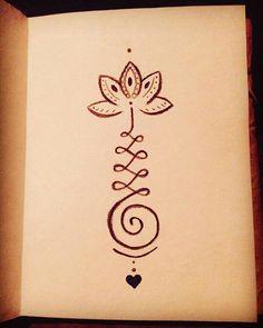 Mijn nieuwste tattoo!helemaal happy#unalometattoo