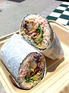 sushiritto (sushi + burrito in San Fran)