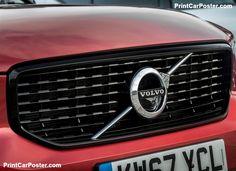 Volvo XC40 [UK] 2018 poster, #poster, #mousepad, #tshirt, #printcarposter