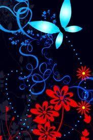 blue blue blue butterfly