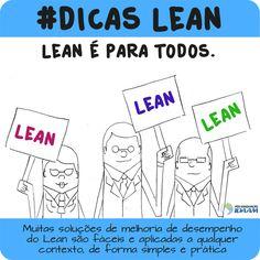 Série #Dicas Lean feita pelo curso de Especialização em Lean Manufacturing da Pós-Graduação IDAAM