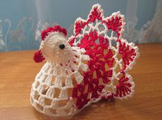 Фотография Easter Crochet Patterns, Crochet Birds, Crochet Bunny, Crochet Animals, Easter Crafts, Holiday Crafts, Handmade Crafts, Diy And Crafts, Chicken Pattern