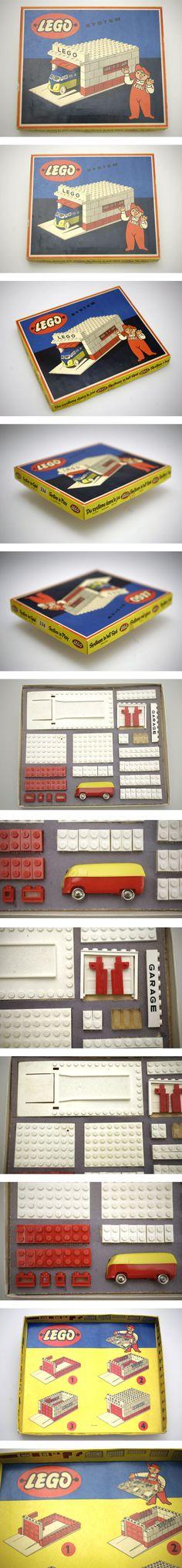 LEGO SET 236 from 1957 A true vintage gem! For Sale NOW on EBAY.DE  Lego envy
