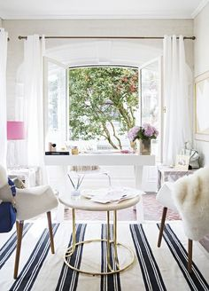 A FASHIONABLE HOME: LAURA NAPLES + KRISTEN GIORGI | NG COLLECTIVE (via Bloglovin.com )