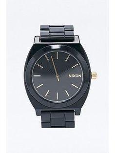 Nixon Acetate Watch in Black