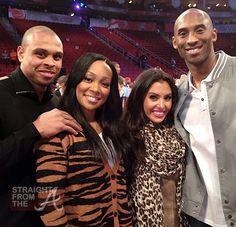 Shannon & Monica, Vanessa & Kobe