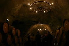 Amazing Wine Cave in Central Otago, New Zealand