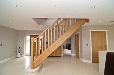 similar House Entrance, Entrance Hall, Timber Staircase, Stairs, Banisters, New Homes, Stair Case, House Design, Hallway Ideas
