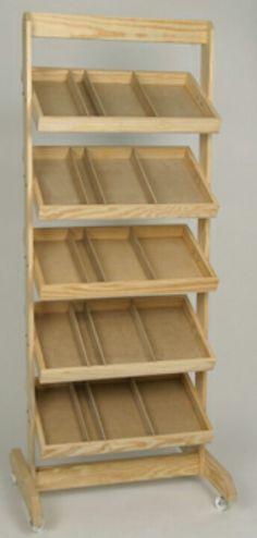 Portable storage shelf.