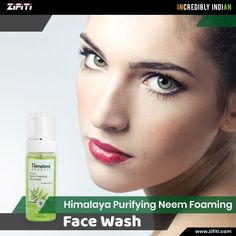 Buy Himalaya's Purifying Neem Foaming Face Wash from Zifiti.com in the USA. Order Now.  Quick & safe delivery