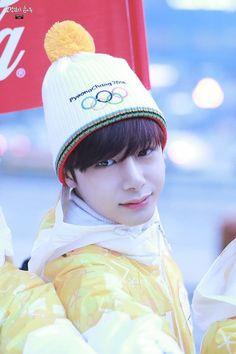 Hyungwon Monsta X run as torch Bearers in Olympic relay 2018