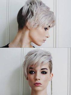 short pixie haircuts for women with thick hair - Google Search