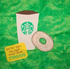 One Artsy Mama: Starbucks Block
