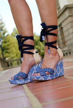Theodora and Callum wedges- perfect for spring/summer!