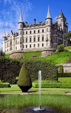 Dunrobin Castle, Highlands, Scotland