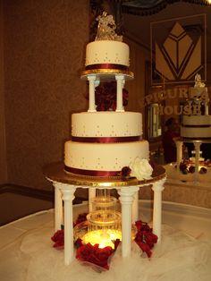 gteau fontaine gteaux fontaine de mariage vanille crme au beurre gteaux au beurre biscuits mariage ptisserie source escaliers - Fontaine Gateau Mariage