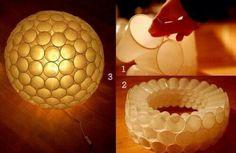 Lámpara de vasos