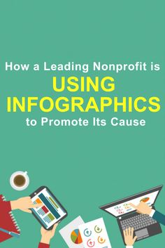 Here's how one of the top leading nonprofits in the USA is becoming their own visual designer to create their own infographics so they can share their valuable data to everyone and promote their cause!