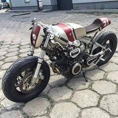 Os Motociclistas Made in Brasil: # 21 Yamaha cafe racer.