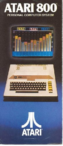 Atari 800 Personal Computer System, 1980