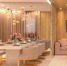Scandinavian Dining Room Design: Ideas & Inspiration - Di Home Design Dining Suites, Luxury Dining Tables, Luxury Dining Room, Dining Room Design, Luxury Home Decor, Luxury Interior, Interior Design, Luxury Furniture, Furniture Design