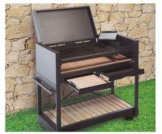 Risultati immagini per asadores modernos portatiles Barbecue Grill, Grilling, Smoker Designs, Alex Box, Ideas Terraza, Steel Furniture, Outdoor Cooking, Home Living Room, Stove