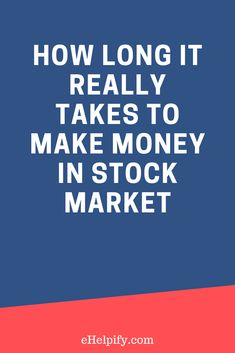 an analysis of how to make money in the stock market The stock market is full of uncertainties due to volatility it is a serious commitment which needs oodles of patience, focus, discipline, nurturing and before you take the leap to purchase, read the complete guide on the basics of making money in the stock market so here below are answer of how to.