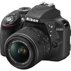 Nikon D3300 DSLR Camera +18-55mm VR II Lens (refurbished) $400 + Free Shipping
