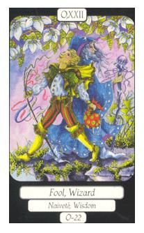 June 10 Tarot Card: The Fool (Merry Day deck) The unknown can be exciting and inspiring or it can be terrifying and daunting ... it's all in your mindset. Fear, worry, and what-ifs will never take you as far as willingness, wonder and optimism