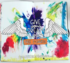 Give Your Dream Wings is a free e-course for soulful creative types who are