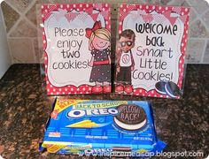 Fun FREEBIE to welcome back your smart little cookies! :)