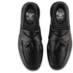 1a46e1cd8a85f Dr. Martens Leather Edison Shoes ( 115) ❤ liked on Polyvore featuring  shoes