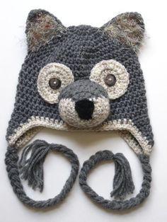 Crochet Wolf | http://best-cute-babies-gallery.blogspot.com