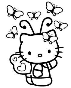 hello kitty ausmalbilder - ausmalbilder für kinder | ausmalbilder, ausmalbilder hello kitty