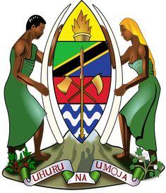 #Tanzania's Coat of Arms | #heraldry