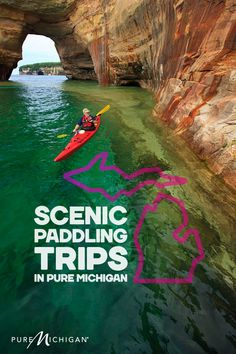 Explore six amazing paddling trip destinations.