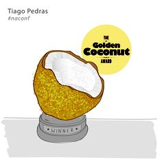 The Golden Coconut Award byTiago Pedras in Responsive Teaching #naconf